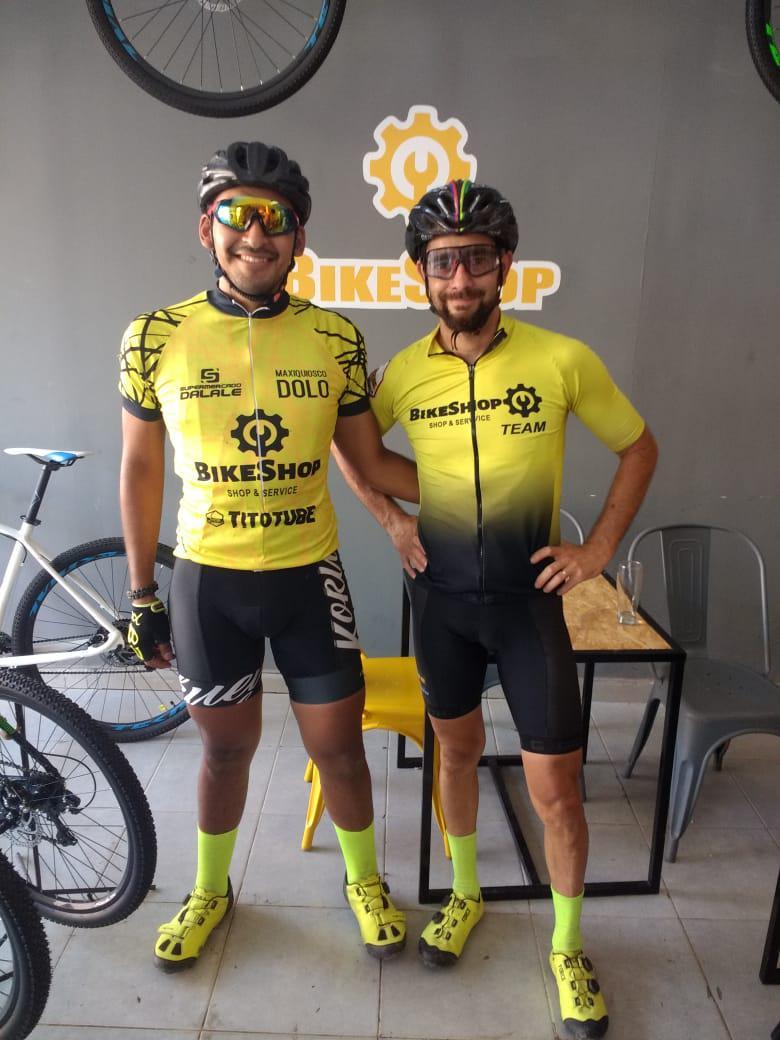 Juanjo y Nico del TEAM BIKESHOP